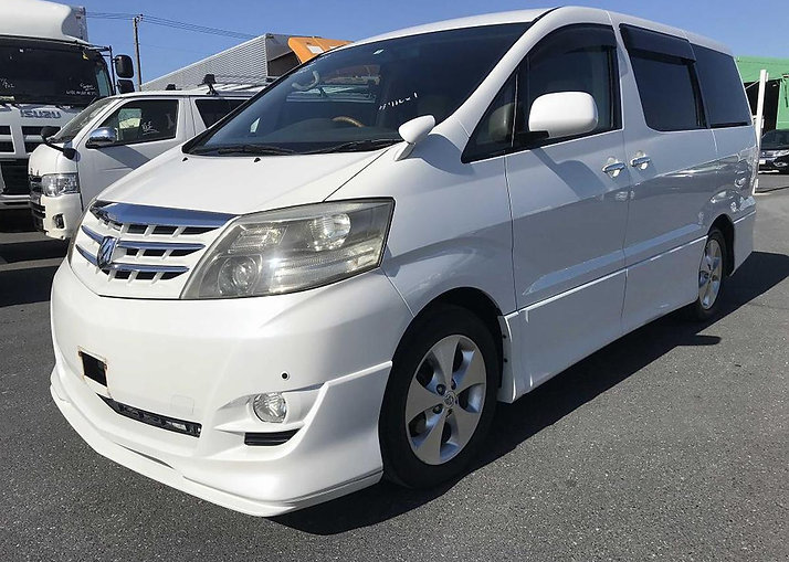 2008 - Alphard - White - AS Prime Selection 2 - ANH10-0191622 - 49274 miles -Northstar Con