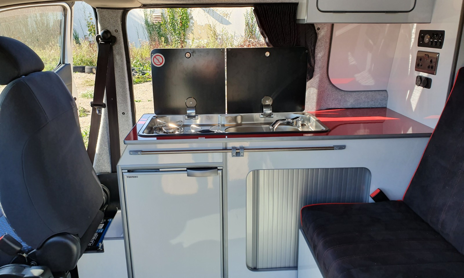 NV200- Roof and 38 RR Side Conversion(17