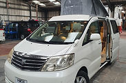 Alphard MXL Edition Roof and 48RR On Sli