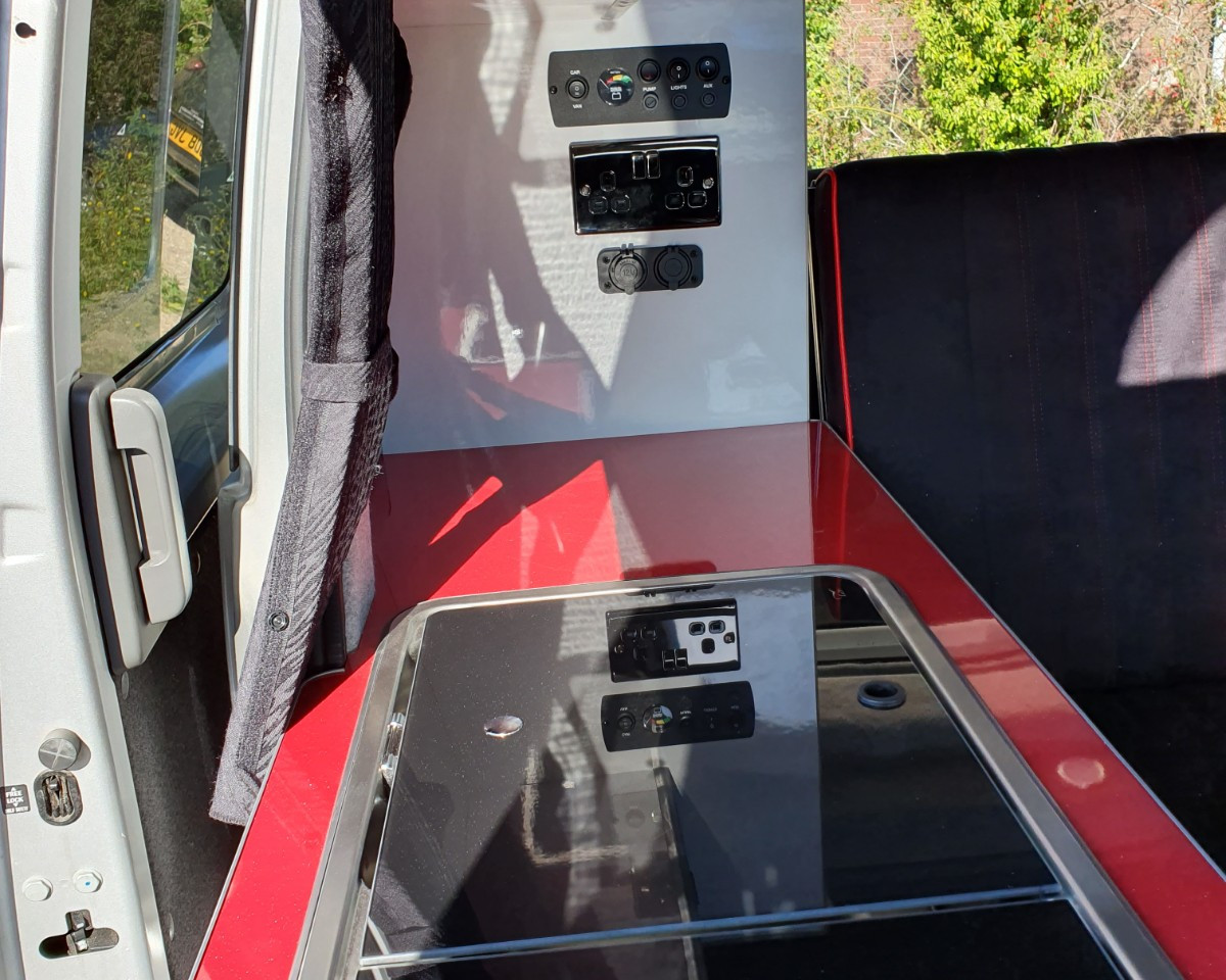 NV200- Roof and 38 RR Side Conversion(15