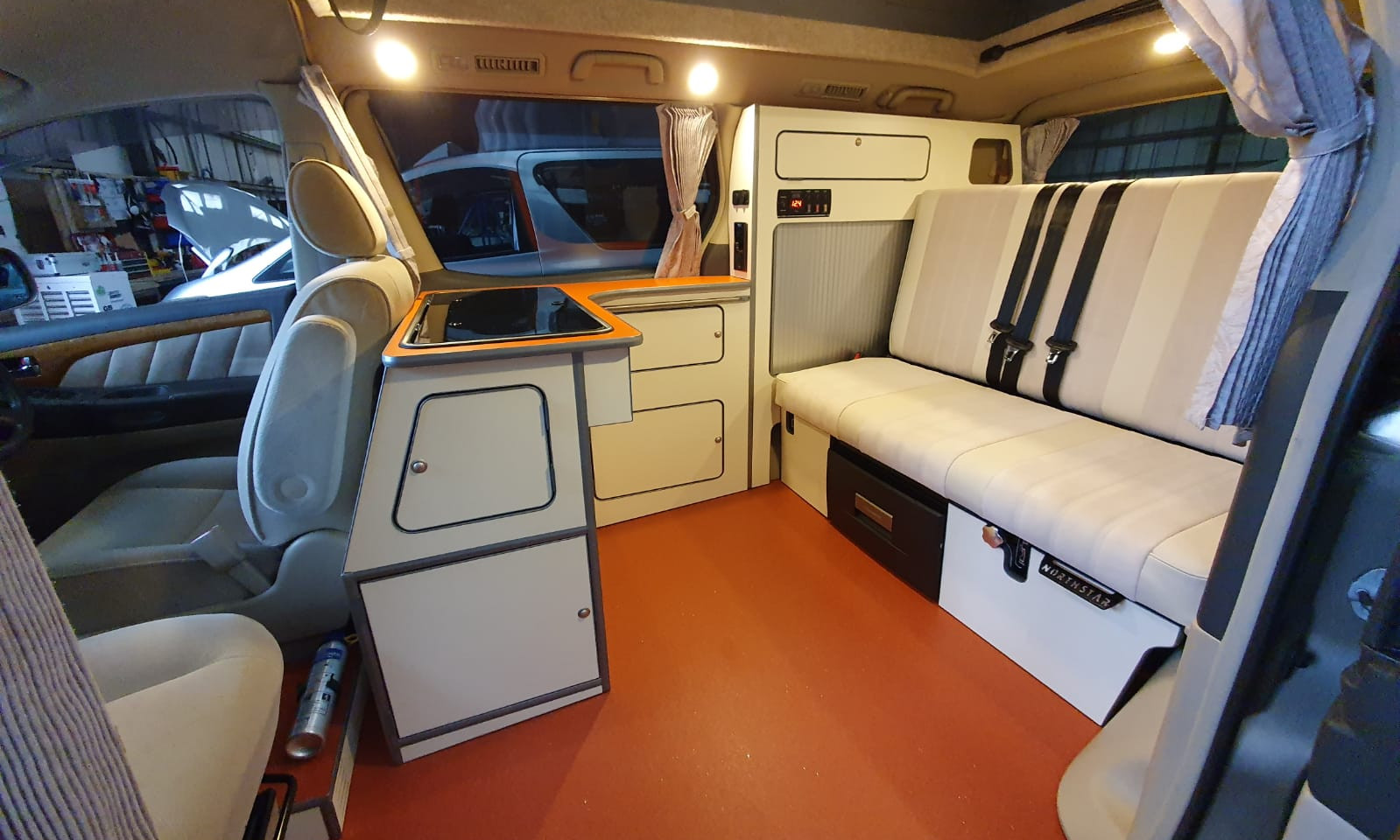 Pearl Vinyl and Pearl Velour - 3 Seater