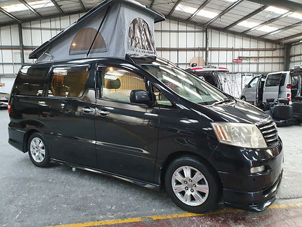 Toyota Alphard 48 RR Side Conversion wit