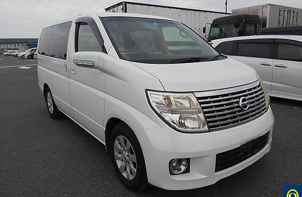 2006 - Nissan Elgrand X- White - E51-155
