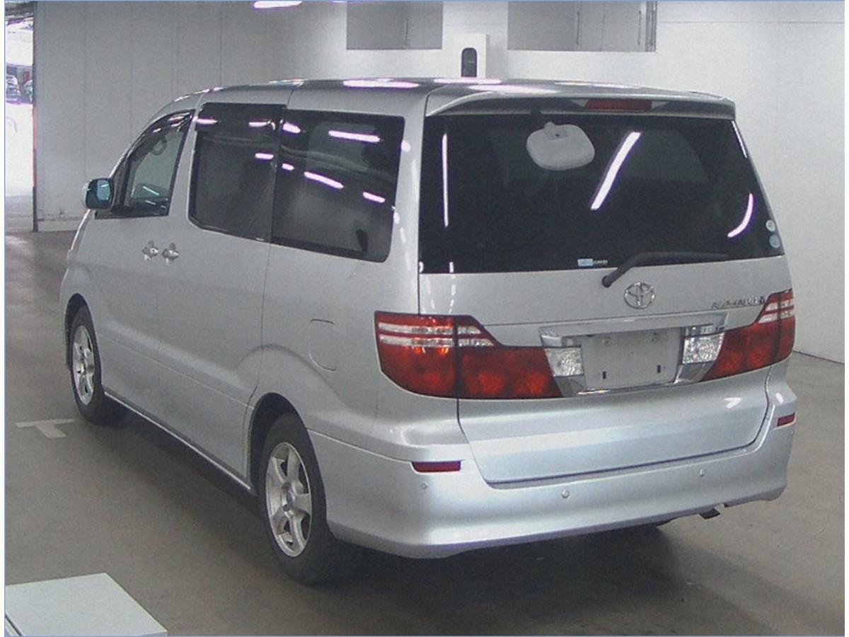 2006- Alphard - Silver -2.4 AX L Edtion