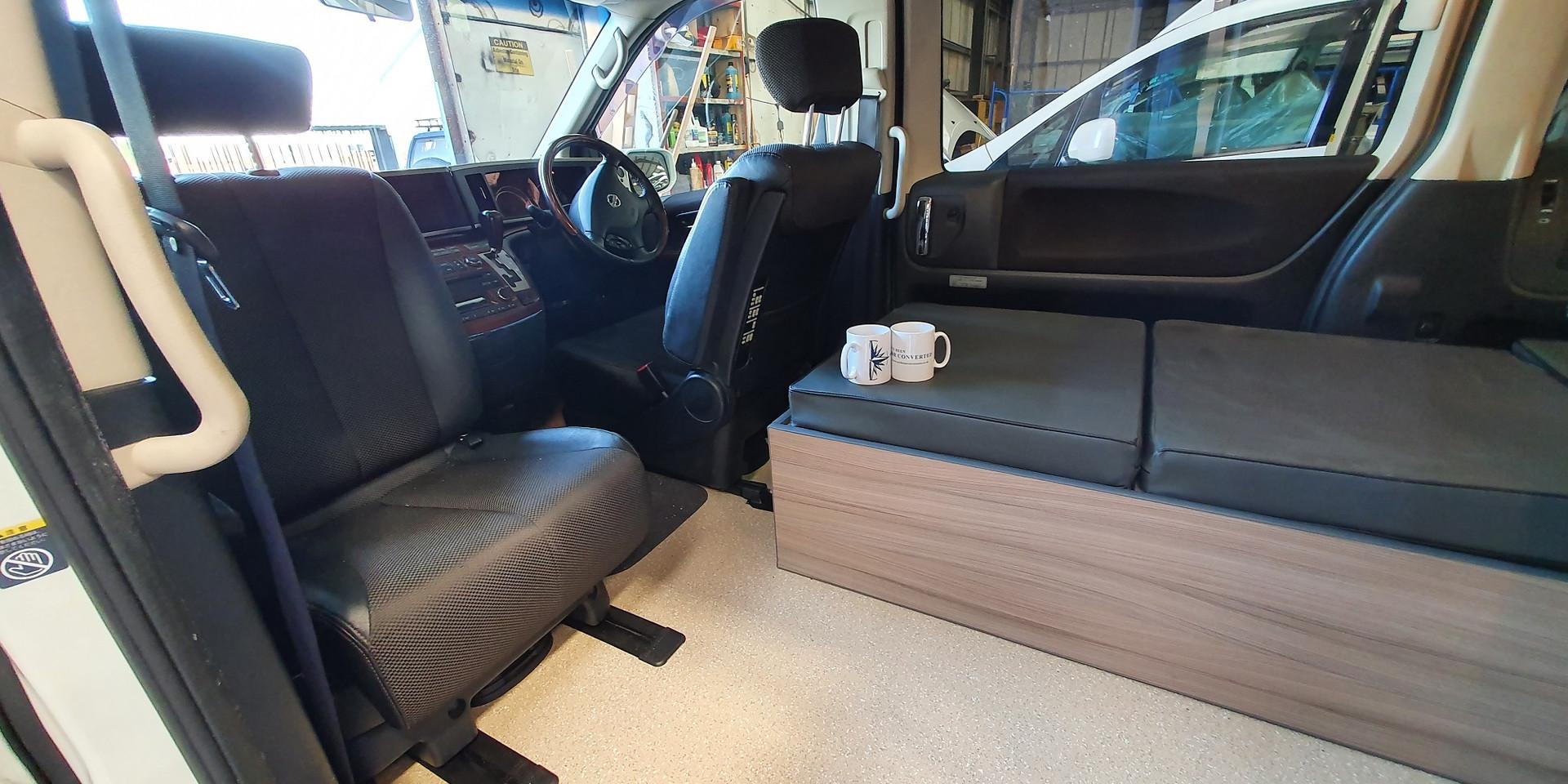 Nissan Elgrand -One Berth - Northstar Co