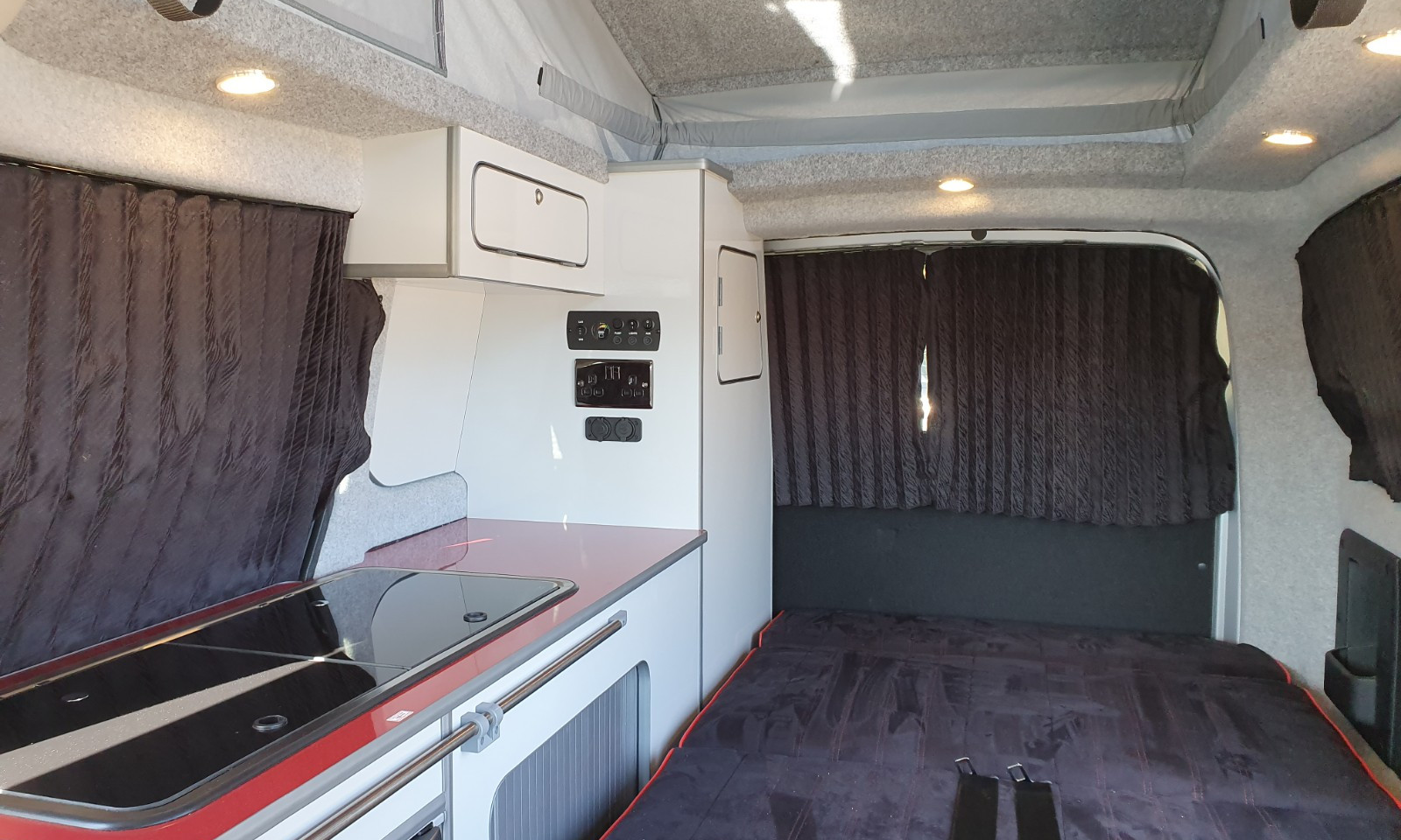 NV200- Roof and 38 RR Side Conversion(19