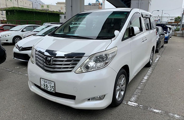 2009 Alphard G - Pearl -ANH20-8044418 -