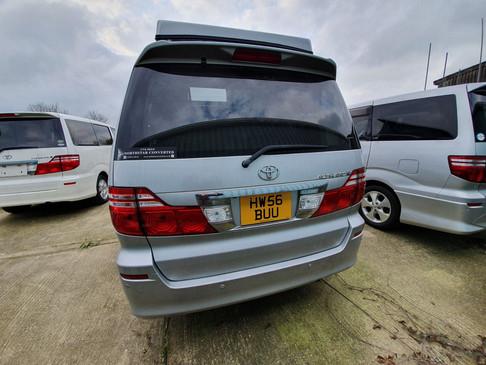 Toyota Alphard HW56 BUU - Roof and 48 RR