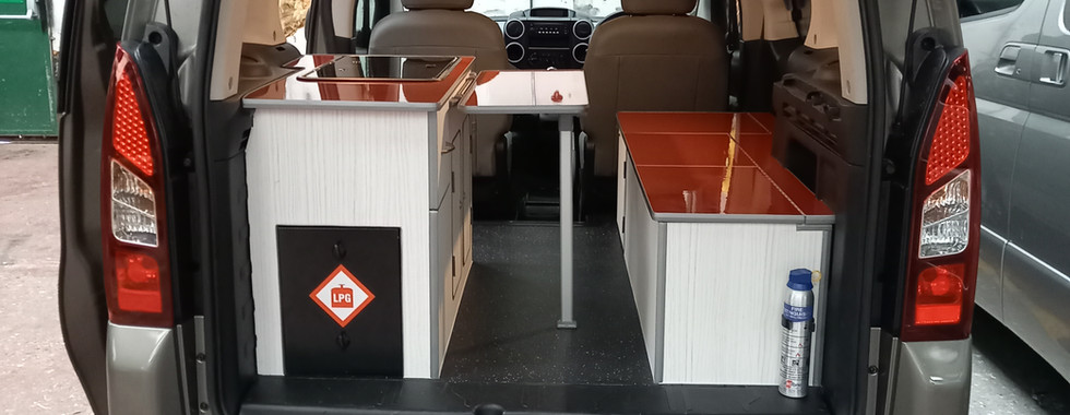Bespoke Citroën Berlingo conversion