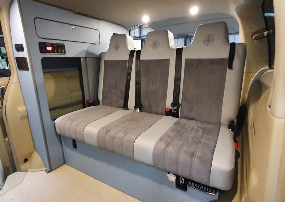 5 seater Day Van Conversion - 48 Rock'n