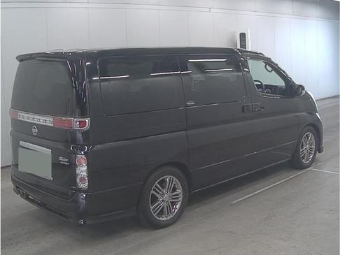 2008- Black - Elgrand Rider - Autech E51