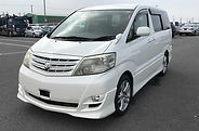 2006- Alphard -MS Limited - White - Grey