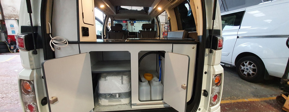 Nissan Elgrand - Outback rear Conversion