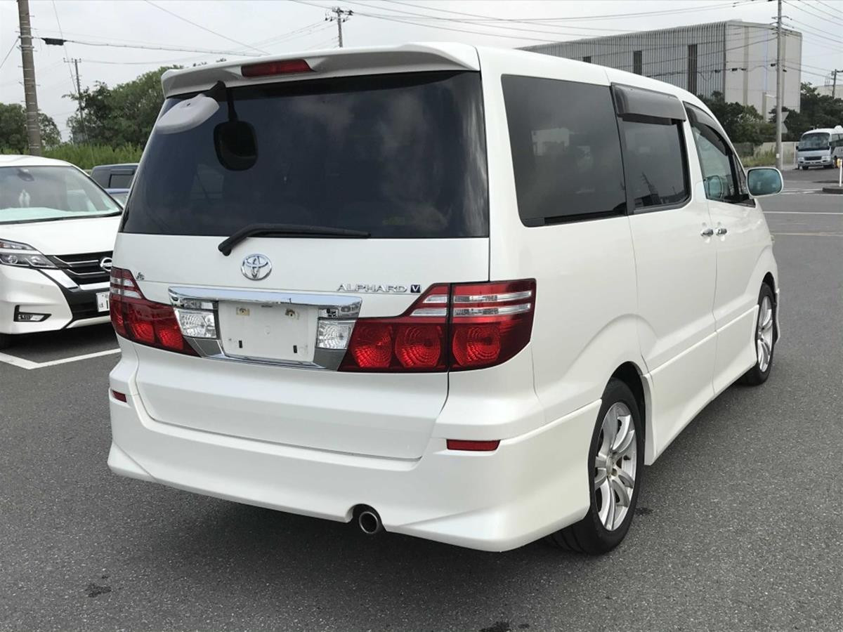 2006- Alphard -MS Limited - White - Grey