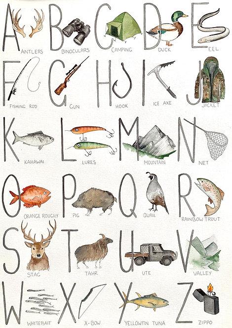 Hunting & Fishing ABC