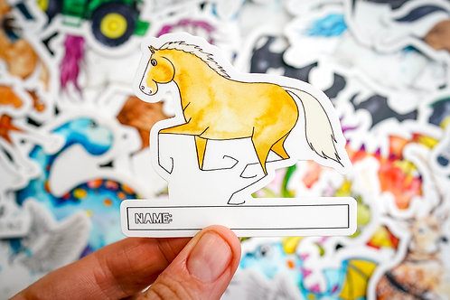 Palomino Sticker