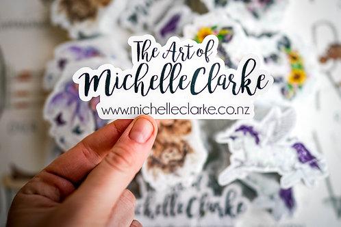 The Art of Michelle Clarke Sticker
