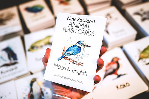 NZ Animal Flash Cards