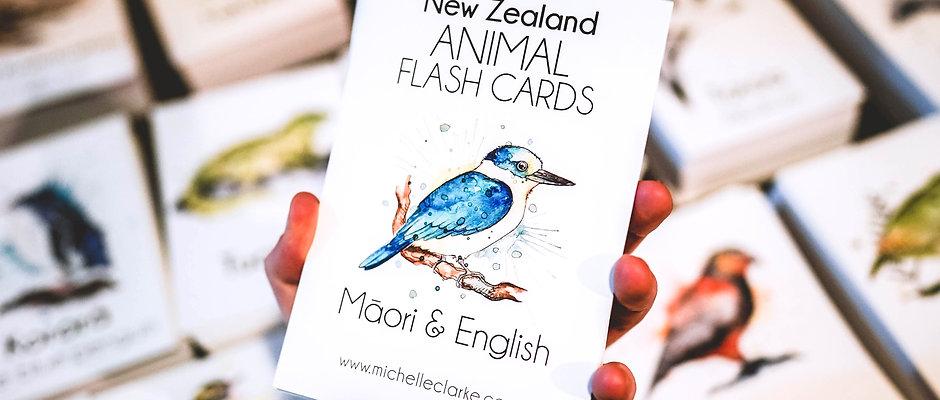 NZ Animal Flash Cards