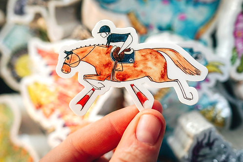 Show Jumping Sticker