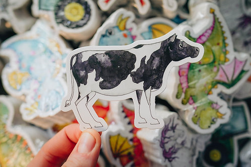 Penelope the cow Sticker