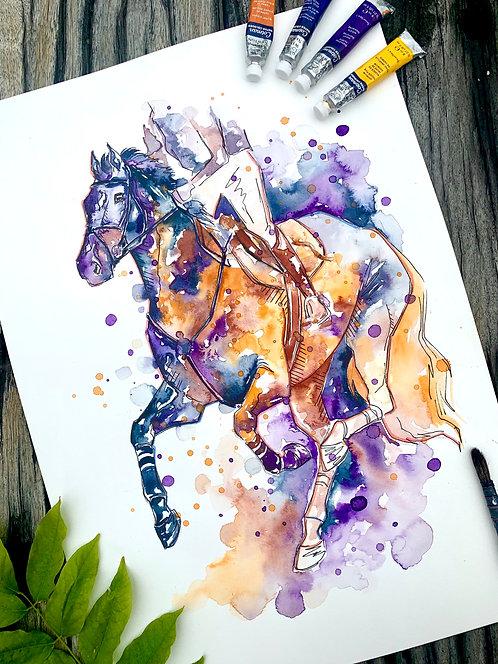 Eventing Gallop