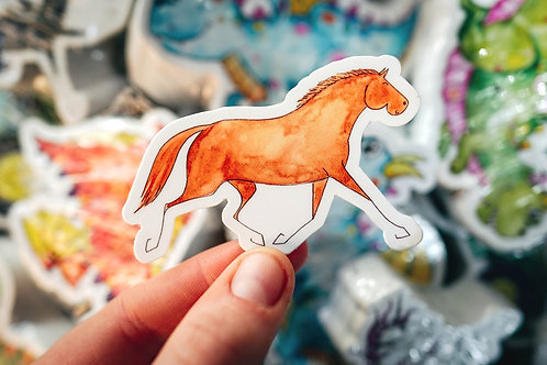 Sydney the horse sticker