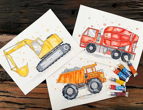 3x Original Trucks