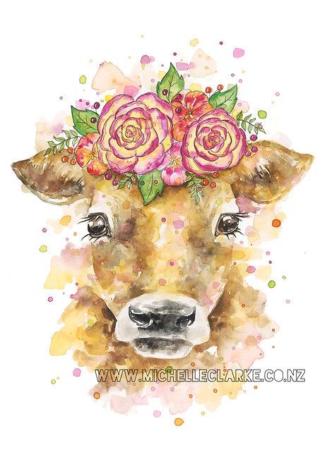 Jersey Cow Print