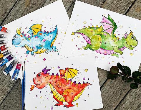 3x Dragons