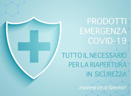 Supporti alle aziende per emergenza Covid-19