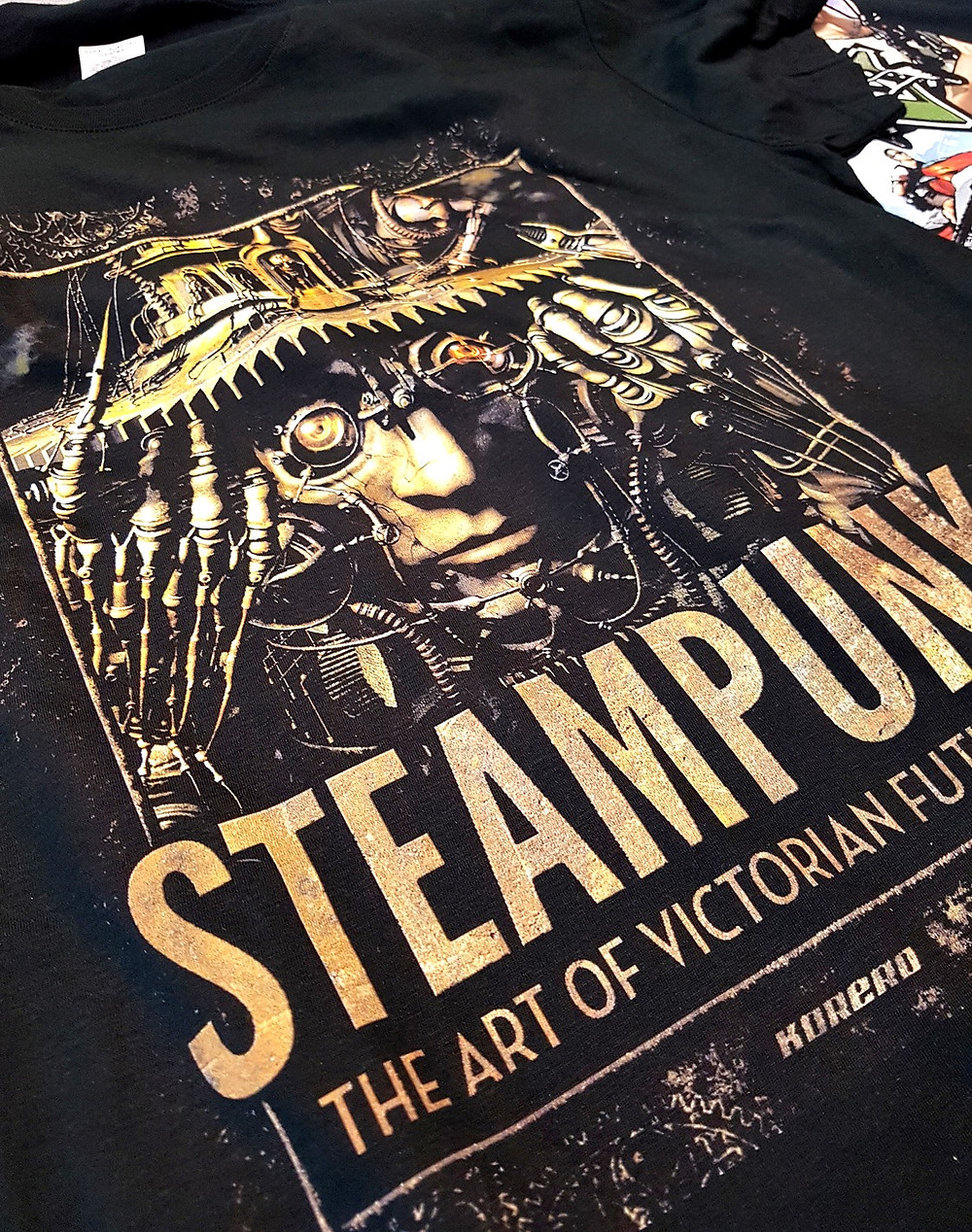 Stampa DTG su t-shirt scura