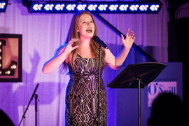 "I was so lucky to sing ""On My Way"" from ""Violet"" at The O'Neill Theater Gala"