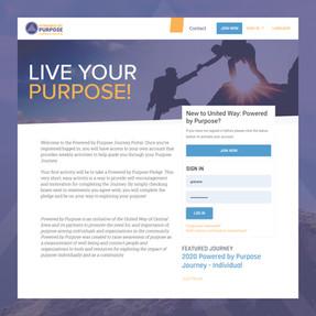 Powered by Purpose Journey Portal Content Development