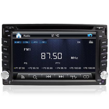 RADIO SAMOCHODOWE 2 DIN GPS NAVI MAPY BT KAMERA