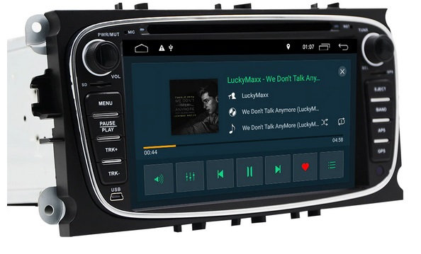 RADIO 2 Din ANDROID FORD FOCUS MONDEO GALAXY WIFI