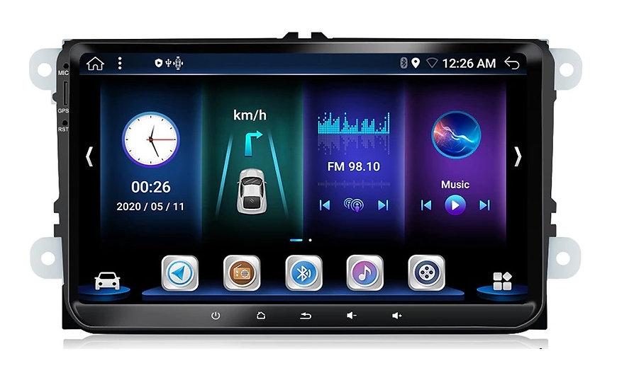 RADIO SAMOCHODOWE 2 DIN SKODA VW SEAT ANDROID 4GB/64GB QSD2
