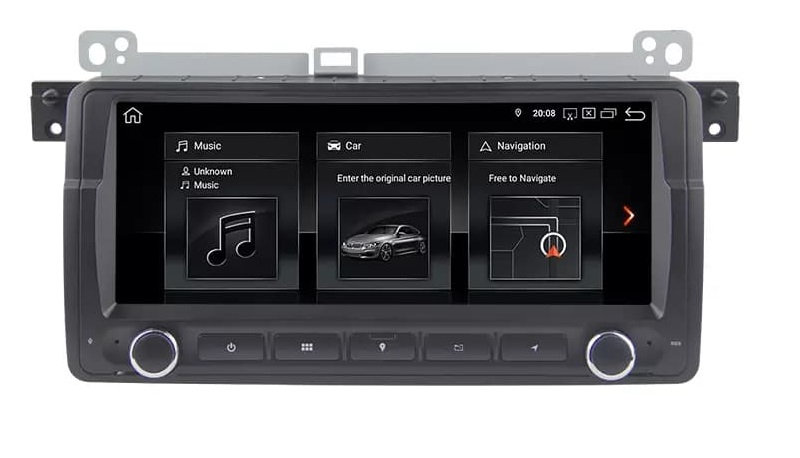 RADIO 2 DIN ANDROID BMW E46 M3 ROVER 4GB/64GB DSP