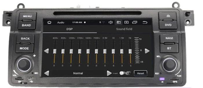 RADIO 2 DIN ANDROID  BMW E46 M3 4GB/64GB DSP