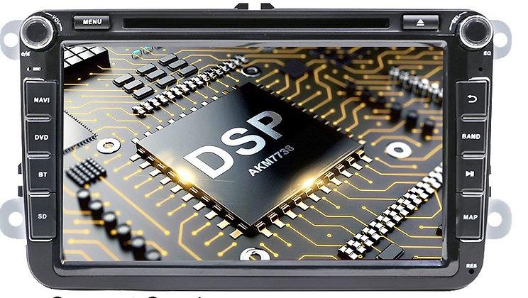 RADIO SAMOCHODOWE 2 DIN SKODA VW SEAT ANDROID 10 4GB/64GB PX6 z DSP