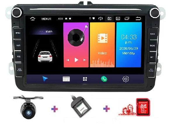 RADIO SAMOCHODOWE 2 DIN SKODA VW GOLF PASSAT SEAT ANDROID 2GB RAM DSP