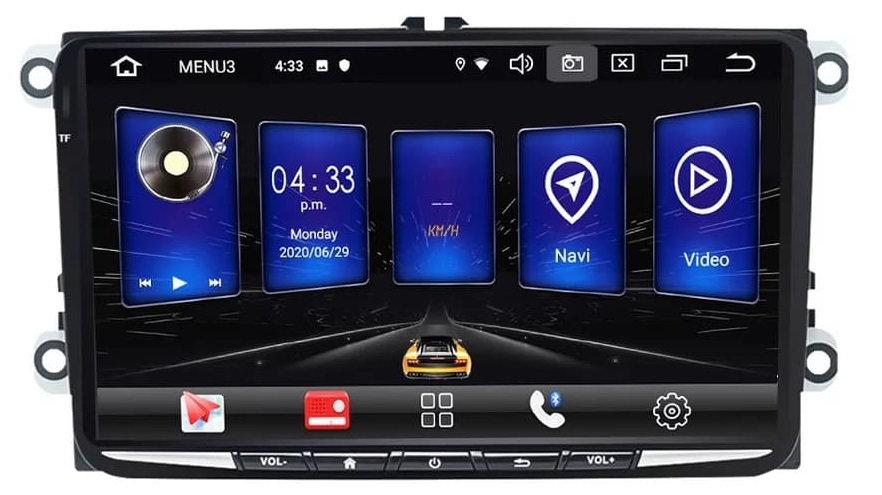 RADIO SAMOCHODOWE 2 DIN SKODA VW GOLF PASSAT SEAT ANDROID 2GB + DSP