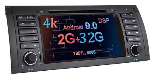 RADIO 2 DIN ANDROID BMW E53 E39 X5 4K LTE DSP