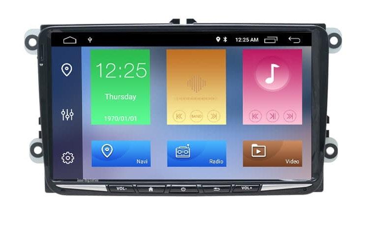 RADIO SAMOCHODOWE 2 DIN SKODA VW GOLF PASSAT SEAT ANDROID 4GB + DSP