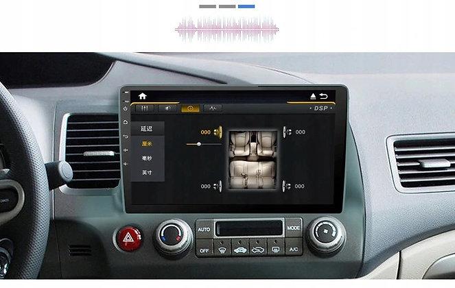 RADIO 2 DIN ANDROID 10 CALI HONDA CIVIC 2006-2011 4GB DSP