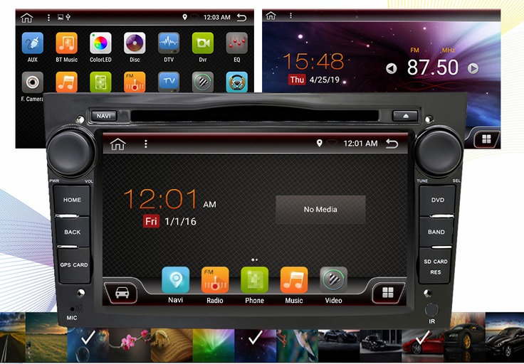RADIO 2 DIN ANDROID OPEL ASTRA CORSA VECTRA 4GB + SYSTEM DSP