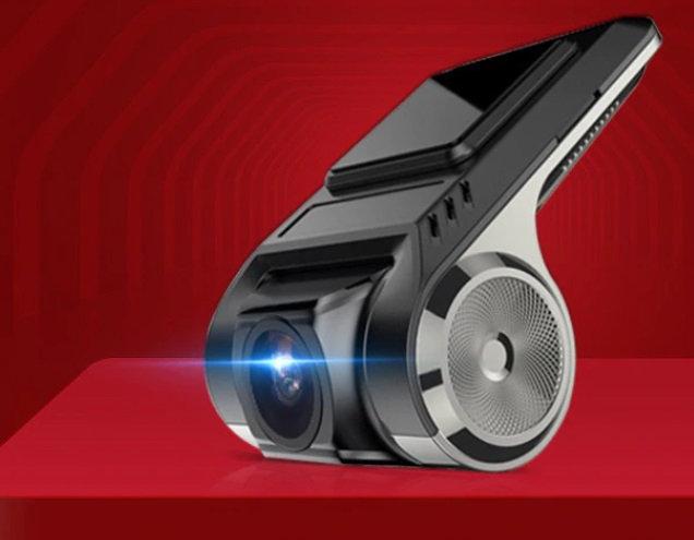 Rejestrator jazdy do radia z Android kamera DVR HD M5