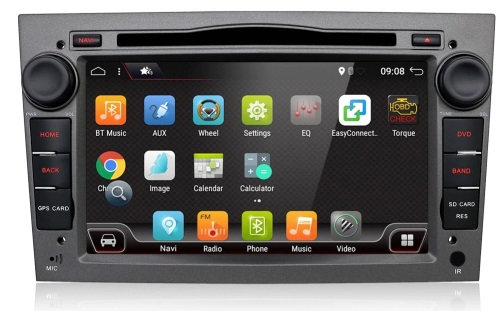 RADIO 2 DIN ANDROID 10 OPEL ASTRA CORSA VECTRA 2GB
