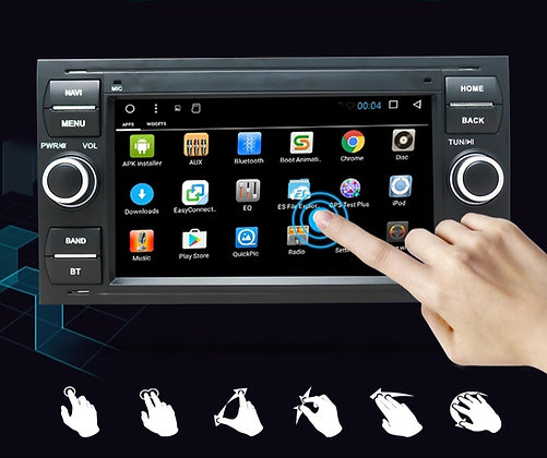 RADIO ANDROID FORD MONDEO FIESTA GALAXY S-MAX