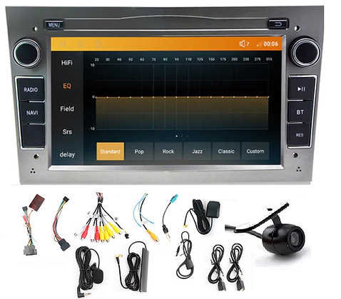 RADIO 2 DIN ANDROID OPEL ASTRA CORSA VECTRA + 4GB ZYC852